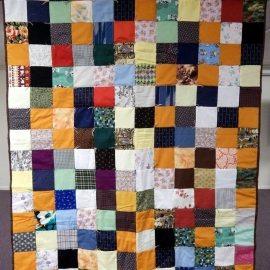 Patchwork Comforter 53x64