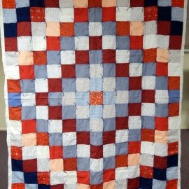 Red, White and Blue Comforter 58x70